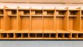 Custom Wood Sport Lockers