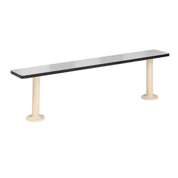 Phenolic Bench with 4010 Pedestals