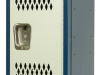 Body/Frame: Dark Blue Door: Light Gray