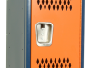 Body/Frame: Dark Blue Door: Orange