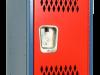 Body/Frame: Blue Door: Red