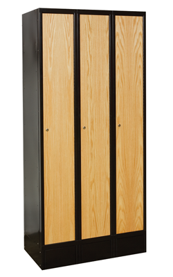 Hybrid Wood and metal lockers