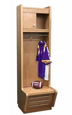 wood sport locker