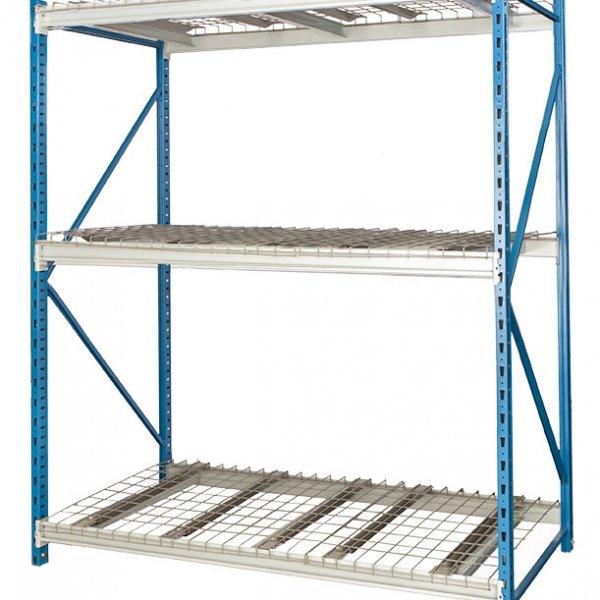 Bulk Rack with Wire Deck